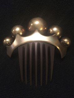 19th Century Victorian Hair Comb Crown Globes Unusual | eBay