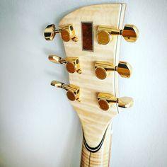 Stuart day guitars headstock rear end
