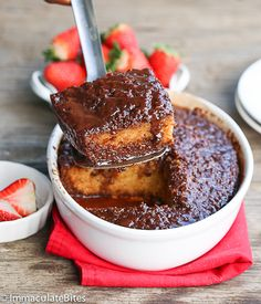 Can I say yum!!! - A Chocolate Malva Pudding, a twist on a classic South African recipe. ^_^