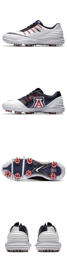 Golf Shoes 181147: New Nike Lunar Control 4 Women Golf Shoes White Blue University Arizona Wildcats -> BUY IT NOW ONLY: $36.08 on eBay!