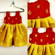 Baby Girl Outfits 6 Months 30 Ideas For 2019 Baby Girl Frocks, Frocks For Girls, Kids Frocks, Dresses Kids Girl, Kids Outfits, Baby Outfits, Baby Girl Dress Design, Kids Blouse Designs, Kids Ethnic Wear