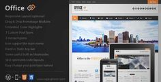 Download and review of Office Responsive Business Theme, one of the best Themeforest Corporative themes