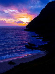 Daybreak ~ North shore, Oahu, Hawaii