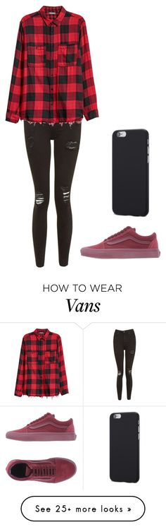 """Outfit"" by andreeadeeix12 on Polyvore featuring Topshop and Vans"
