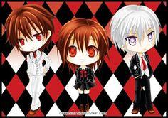 Kaname, Yuuki, and Zero-Vampire Knight