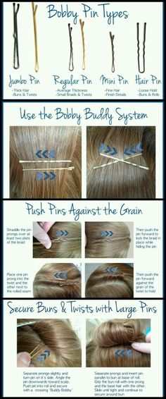 How to use bobby pin