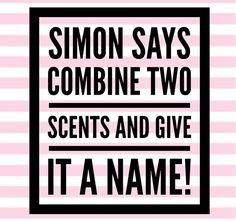 Simon says Scentsy game