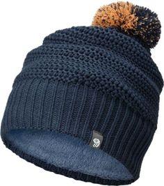 1c0cac7f191 Mountain Hardwear Women s Two Poms Beanie Zinc Pom Pom Beanie Hat