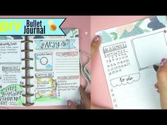 DIY Bullet Journal | How to make a Planner