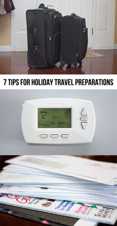 7 Things to Consider when Preparing for Holiday Travel #travel
