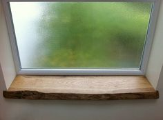Solid Oak Window Sill - Tom Robinson Handmade Furniture from Brighton, Sussex