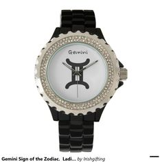 Gemini Sign of the Zodiac.  Ladies Watches. Wrist Watches