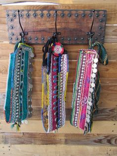 Coconut Village Festival Beaded Fringe Belts