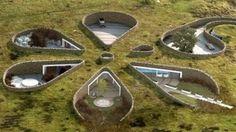 Diseños de casas ecológicas | vivienda bajo tierra