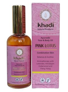 KHADI-PURE-AYURVEDIC-PINK-LOTUS-FACE-amp-BODY-OIL-VEGAN-amp-NATURAL-PRODUCT