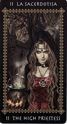 Favole #Tarot by Victoria Frances, the #priestess