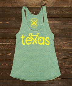 Bike Texas Tank Women's  Green