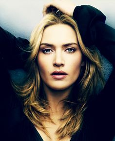 Kate Winslet. I just adore this woman. Methinks we'd be good friends.