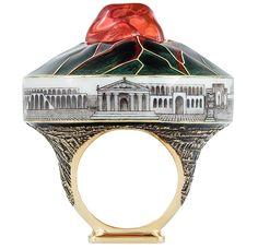 Носи с собой Везувий: новое кольцо Ilgiz F:Опал —это лава