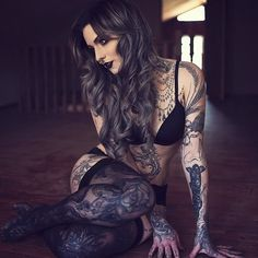 Girl with Tattoos @tGd