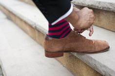 Colorful men's socks from hook & ALBERT.
