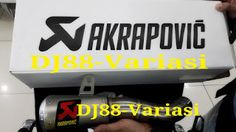 SLIP ON Akrapovic Yamaha R25 ORIGINAL | Knalpot Akrapovic Yamaha R25 MT25 | Variasi R25 MT25
