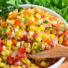 Cajun Corn Salad - Will Cook For Smiles