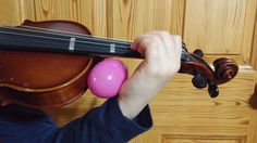 The Violin Doc is in. Eggtreme problems call for Eggtreme solutions. Check out this creative but easy fix for the common cold of violin.