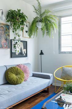 Apartamento alugado que virou lar   Histórias de Casa