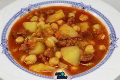 La Juani de Ana Sevilla: Potaje de garbanzos con patatas