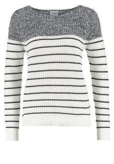 In diesem Pullover fühlst du dich wohl. Vero Moda VMZOEY - Strickpullover - snow white für 29,95 € (29.11.15) versandkostenfrei bei Zalando bestellen.