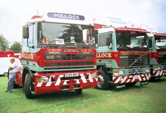"""""""Dutch Courage"""" was the fleet name given to this Pollock DAF. James Arthur, Cab Over, Commercial Vehicle, Vintage Trucks, Classic Trucks, Semi Trucks, Cool Trucks, Volvo, Tractors"""