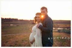 A Lumininescent Maternity Session By Blu Hippo Photography/Fawn Over Baby