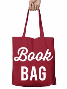 Book bag #funny shopper tote bag reusable library gift #shopping xmas #school t10,  View more on the LINK: http://www.zeppy.io/product/gb/2/262740828345/
