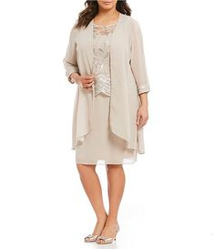 51990bbe65b Le Bos Plus Embroidered Jacket Dress. Dillards Dresses FormalFormal ...