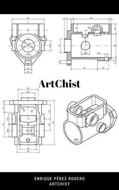 Ejercicios De Autocad 2d Y 3d Conceptos Basicos Linea Circunferencia Recorte Simetria Copiar Mechanical Design Autocad