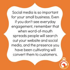 Don't let low numbers stop you from maintaining your social media content. The presence you are cultivating every day will leave an impression on new visitors. Word Of Mouth, Social Media Content, Numbers, Let It Be, Words, Numeracy