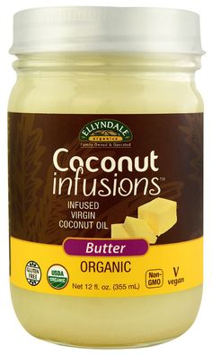 NOW Foods EllynDale Organics Coconut Infusions™ Butter