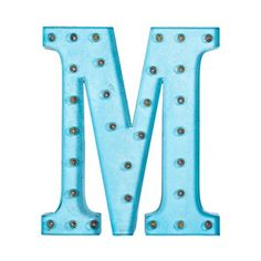 Marquee Light M Turq, $190, now featured on Fab.