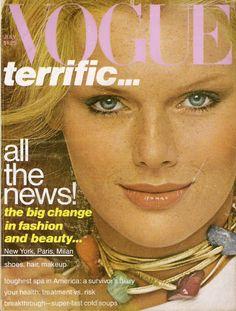 Vogue July 1977 Patti Hansen