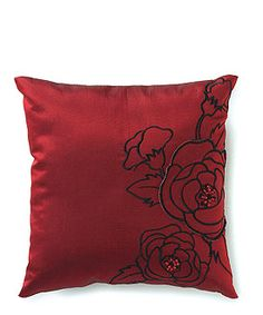 Silhouettes In Bloom Square Ring Pillow from WeddingStar