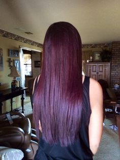 5 0 Out Of 5 Starsblown Away Purple Dyes Over Natural Brown Hair