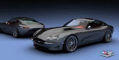 Jaguar XKR-Based Lyonheart K Pays Homage to E-Type