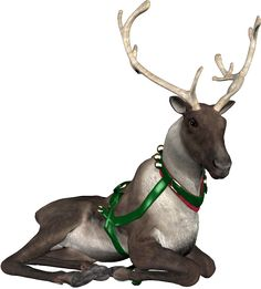Christmas pipes / reindeer sleigh
