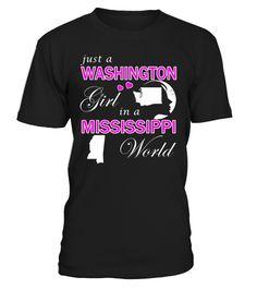 Just a Washington Girl in a Mississippi World #Washington