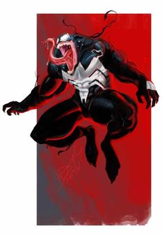 Venom by on DeviantArt Comic Book Characters, Marvel Characters, Comic Character, Comic Books Art, Comic Art, Marvel Venom, Marvel Villains, Marvel Comics Art, Marvel Heroes