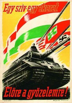 Hungarian Propaganda Poster World War 2