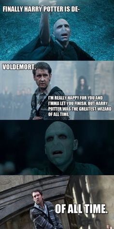 I am over the Kanye West interrupting everyone meme but you turn it into Neville interrupting Voldemort & I automatically love it. <3 :)