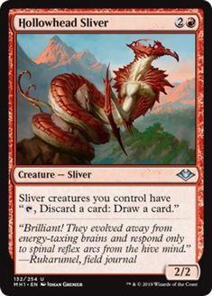 4x Hollowhead Sliver NM Modern Horizons Red Uncommon