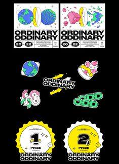 2019 MCP: Ordinary Oddinary on Behance Game Design, Web Design, Layout Design, Design Trends, Design Art, Print Design, Cover Design, Graphic Design Posters, Graphic Design Inspiration